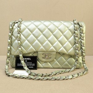 Chanel Classic Jumbo Double Flap Cf Shoulder Bag