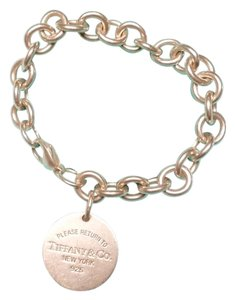 Tiffany & Co. Tiffany & Co. Round Tag Bracelet