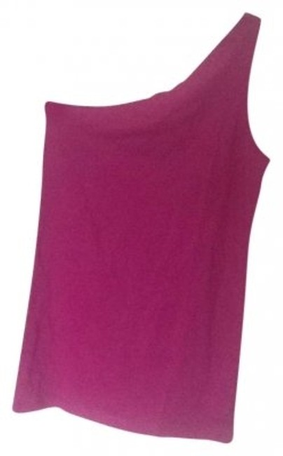 Moda International Purple Victorias Secret One Shoulder Tunic