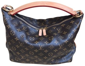 Louis Vuitton Lv Sully Sully Pm Satchel in Monogram