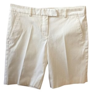 Theory Great Buy Perfect Condition Bermuda Shorts White