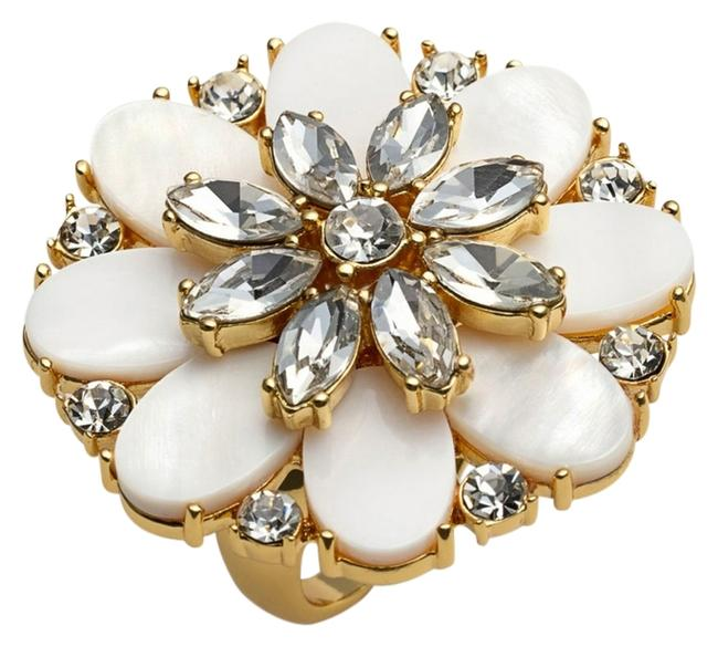 Item - Mother Of Pearl New York Bungalow Bouquet Cocktail Ring