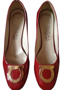 Salvatore Ferragamo Ferragamo Red Pumps