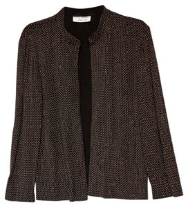 Adrianna Papell Sparkles Shimmery Black Jacket