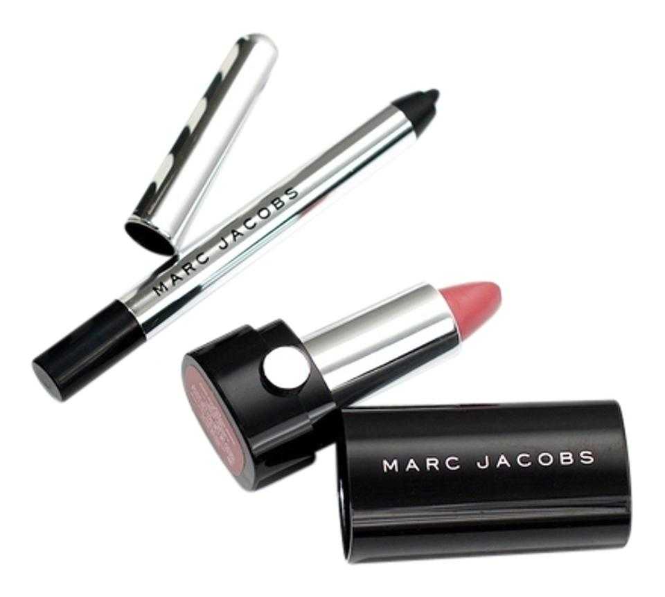 Marc Jacobs NEW AUTHENTIC MARC JACOBS SEPHORA 2016 BIRTHDAY GIFT MINI LIPSTICK BLACK EYELINER
