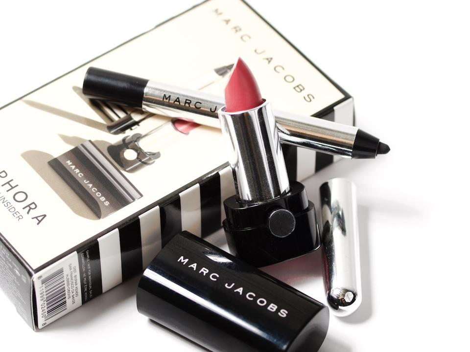 MARC JACOBS SEPHORA 2016 BIRTHDAY GIFT MINI LIPSTICK BLACK EYELINER Image 1234