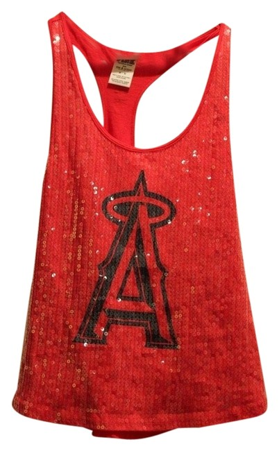 Preload https://item2.tradesy.com/images/pink-sparkle-angels-tank-top-red-1283836-0-0.jpg?width=400&height=650