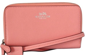 Coach Wristlet in Pink / SV