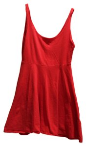 Sparkle & Fade short dress Red Urban Outfitters on Tradesy