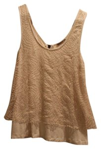 Urban Outfitters Lace Top Cream