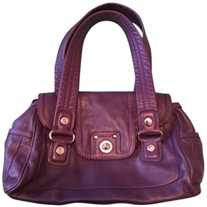 Marc by Marc Jacobs Satchel in Eggplant Purple