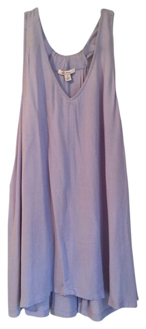 Item - Lavender With Neckband Detail Tank Top/Cami Size 8 (M)