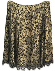 Cynthia Steffe Skirt Yellow and Black