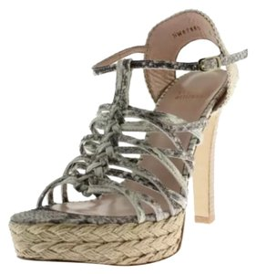 Stuart Weitzman Gray, Natural Platforms