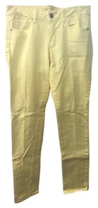 American Eagle Outfitters Skinny Pants Yellow