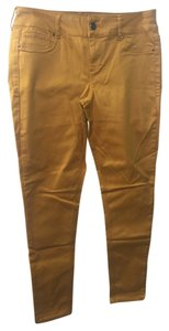 Maurices Skinny Pants Gold