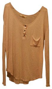 Other Urban Outfitters Buttons Fall Fashion T Shirt Cream