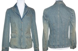 Jeanology Sandwashed Denim Blazer