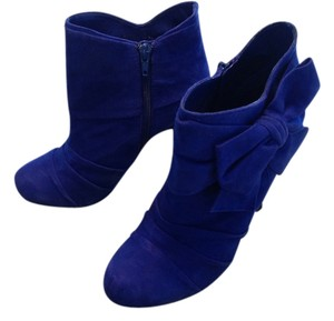 Gianni Bini Suede Never Worn Blue Violet Boots