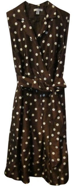 Preload https://item5.tradesy.com/images/dress-barn-brown-mid-length-workoffice-dress-size-18-xl-plus-0x-1284089-0-0.jpg?width=400&height=650