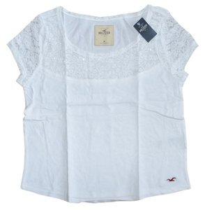 Hollister Party Top White