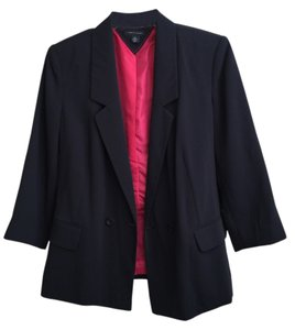 Tommy Hilfiger Navy with hot pink lining Blazer