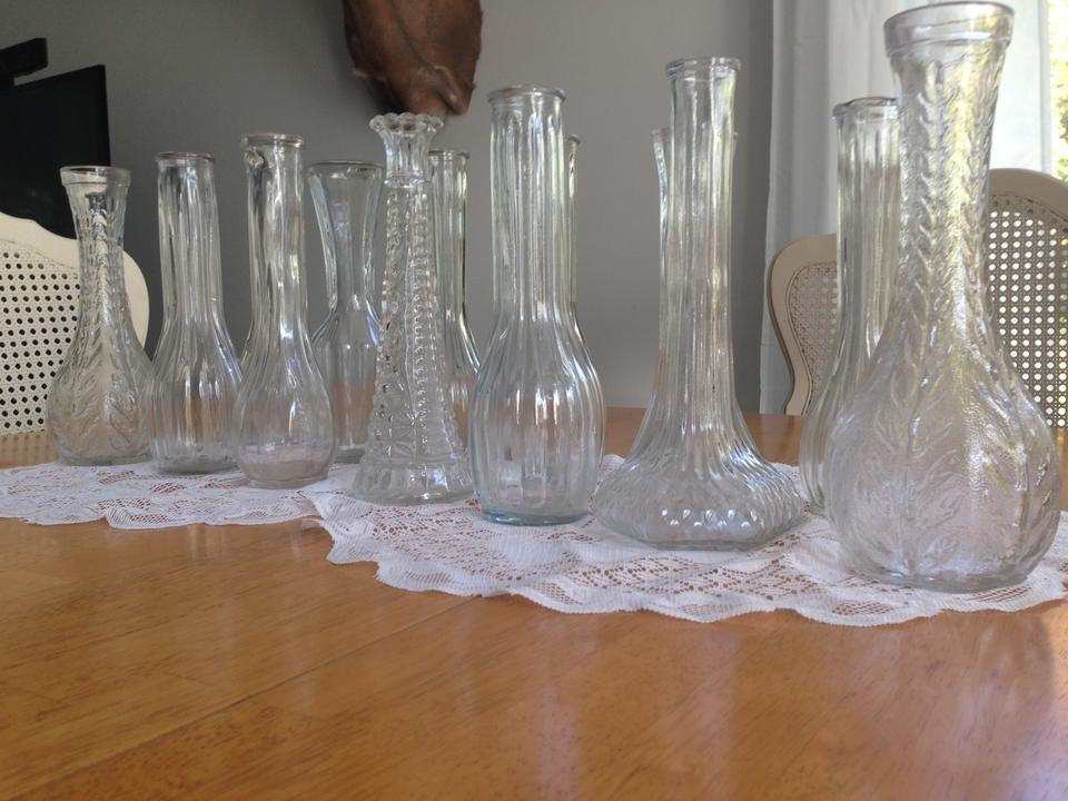 Clear Assorted Glass Vases 13 Tradesy