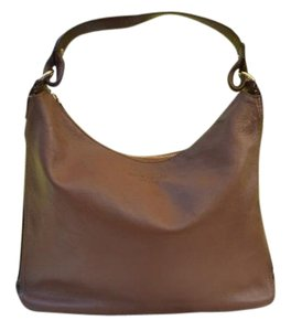Kate Spade Leather Gold Black Patent Leather Ella Luxe Cobble Hill Purse Hobo Bag