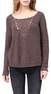 Gentle Fawn Women's Lace Open Knit Sweater