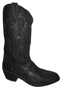 Durango Leather Western Mens black Boots