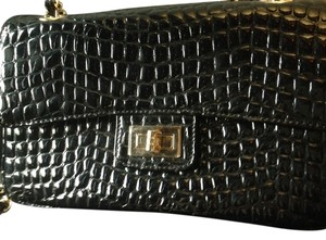 Zenith Gold Chain Strap Woven Strap Brand New Cross Body Bag