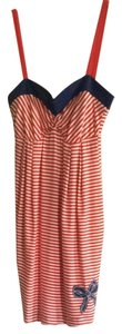 Colcci short dress Red/white on Tradesy