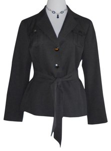 Isabella Fiore Gray / Charcoal / Dark Brown Jacket