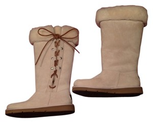 UGG Australia Shearling cream suede Boots