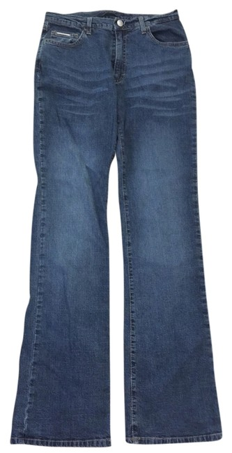 Item - Blue Medium Wash Flare Leg Jeans Size 29 (6, M)