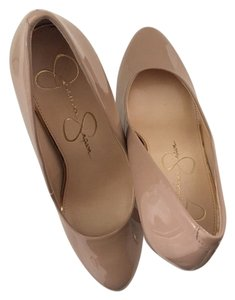 Jessica Simpson Patent leather - Nude Pumps
