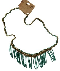 Target Fringed Statement Necklace