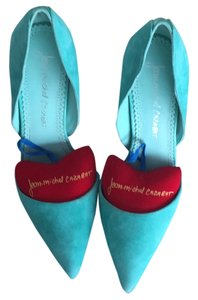 Jean-Michel Cazabat Aqua -light turquoise Pumps