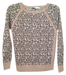Ann Taylor LOFT Printed Animal Print Sweater