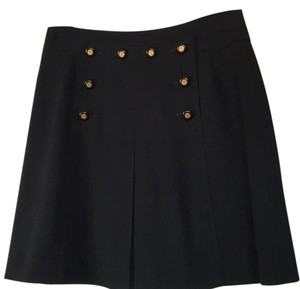 Chanel Vintage Mini Skirt BLACK