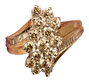 Nordstrom French Diamond Cluster ring