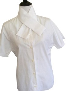 Carven Button Down Shirt White