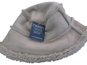 Lands' End Lands End faux shearling winter hat