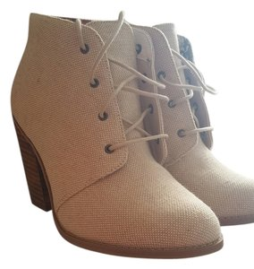 Call It Spring Beige linen Boots