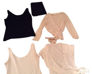 T-Beauty Italy Top Black White And Cream