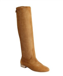 Fendi Knee High Brown Boots
