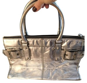 Rafe Satchel in Silver