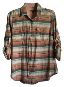 JACHS Button Down Shirt multi stripe