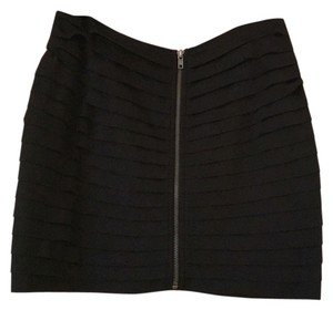 Silence + Noise Mini Skirt Black