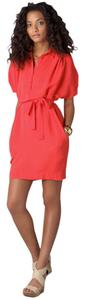 Diane von Furstenberg short dress Cherry Crepe on Tradesy